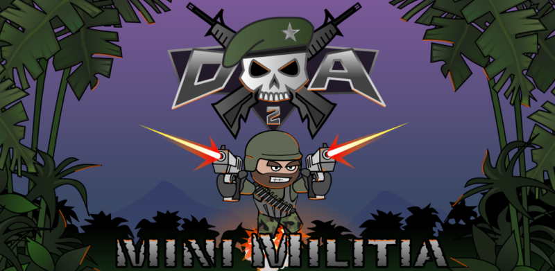 Doodle Army 2 Mini Militia 4.3.2 Mod Apk (Unlimited Everything) Latest Version Download