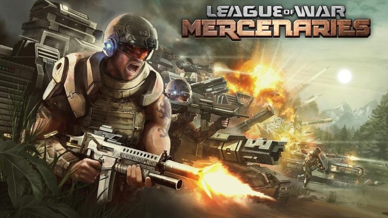 League of War: Mercenaries 9.6.37 Mod Apk (Unlimited Money) Latest Version Download