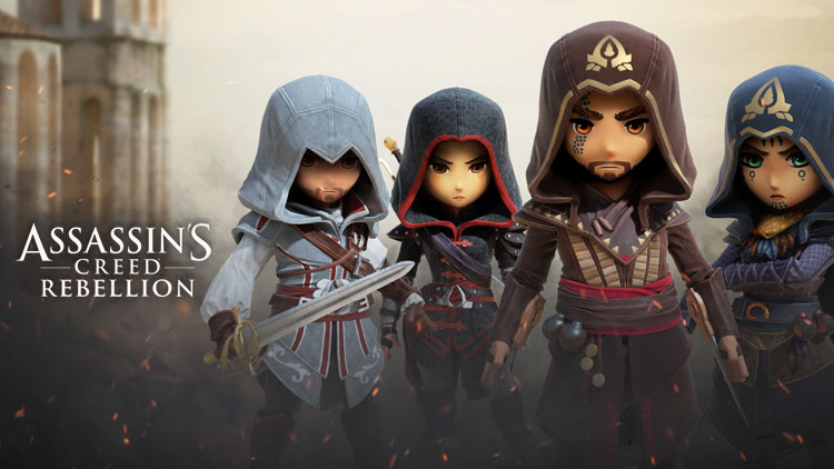 Assassin's Creed Rebellion 2.3.0 Mod Apk + Data (Unlimited Money) Latest Version Download