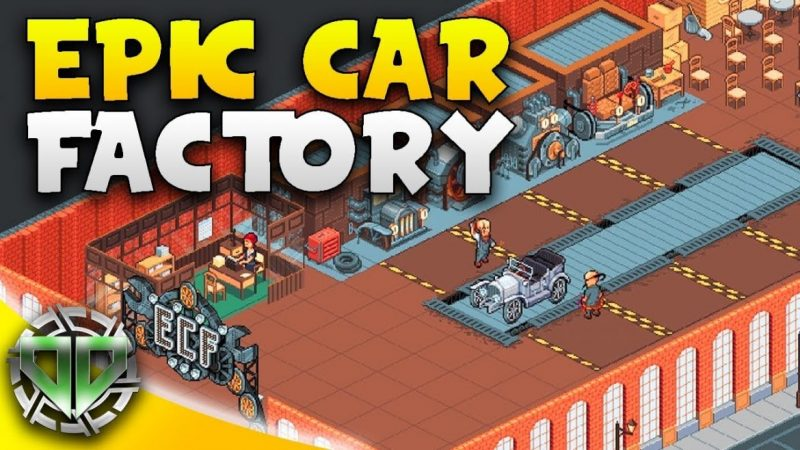 Idle Car Factory 12.6.6 Mod Apk (Unlimited Money) Latest Version Download