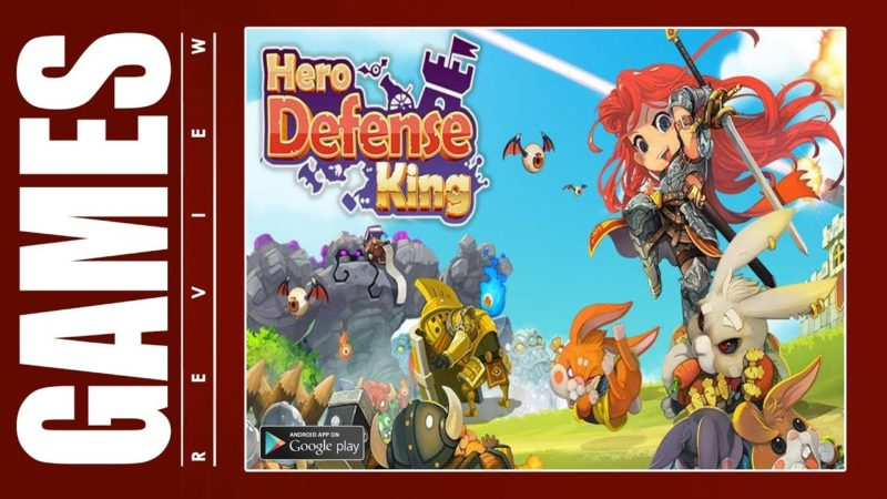 Hero Defense King 1.0.28 Mod Apk (Unlimited Money) Latest Version Download