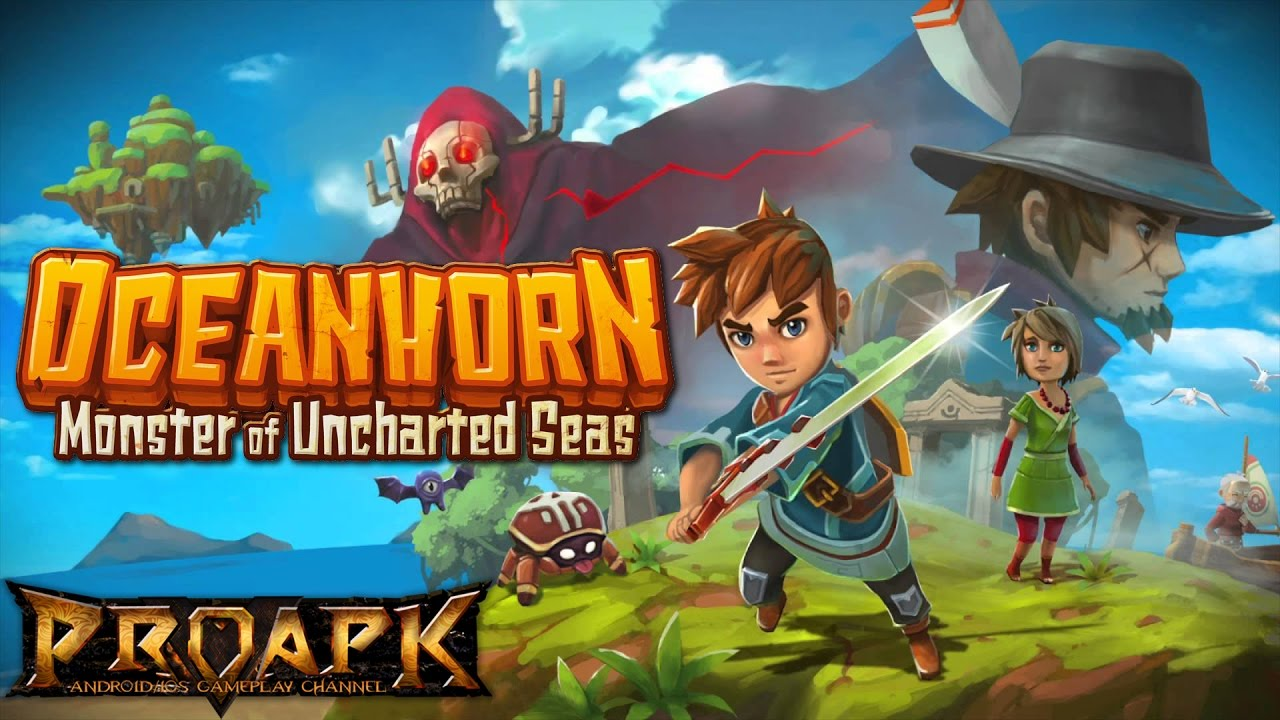 Oceanhorn ™ 1.1.1 Mod Apk + Data (Unlimited Everything) Latest Version Download