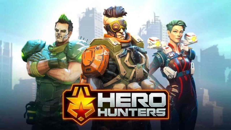 Hero Hunters 4.1 Mod Apk (Unlimited Money) Latest Version Download