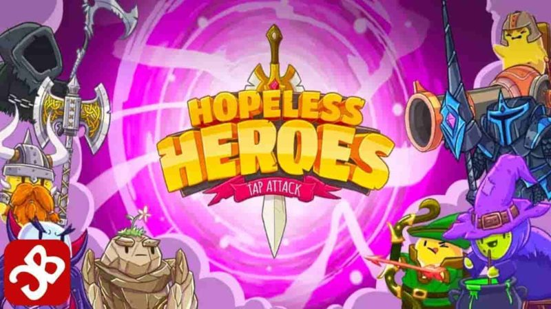 Hopeless Heroes: Tap Attack 2.0.16 Mod Apk (Unlimited Money) Latest Version Download