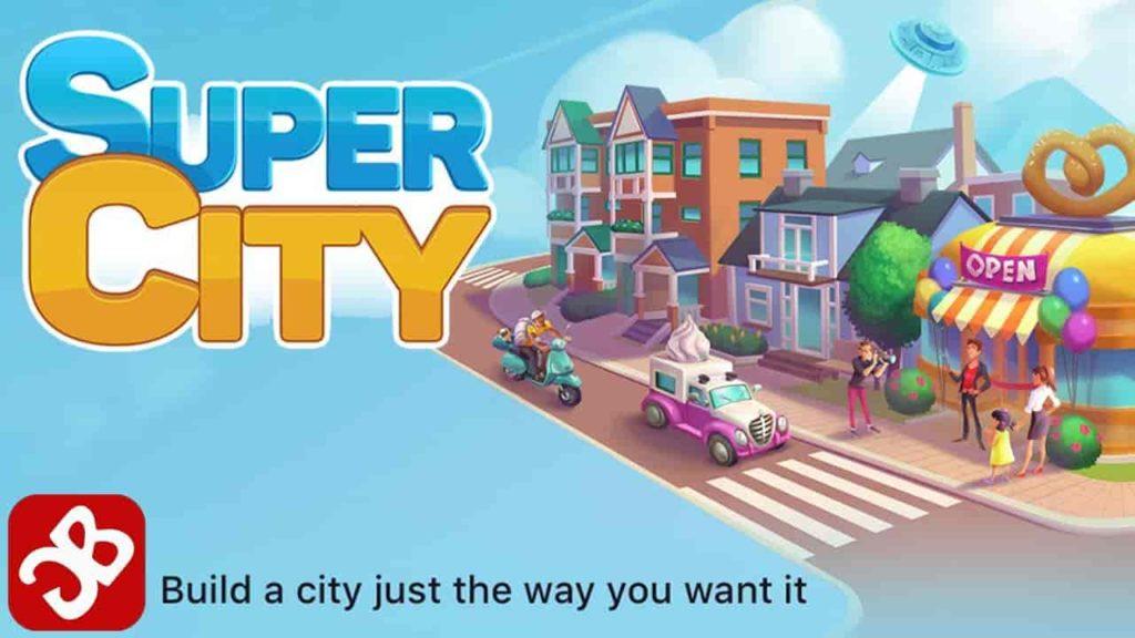 SuperCity: Build a Story 1.25.1 Mod Apk + Data (Unlimited Money) Latest Version Download