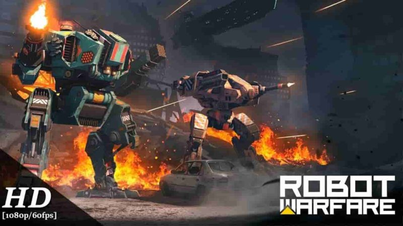 Robot Warfare: Mech battle 0.2.2277 Mod Apk + Data (Unlimited Money) Latest Download