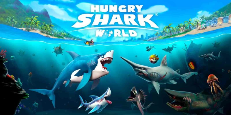 Hungry Shark World 3.4.0 Mod Apk + Data (Unlimited Money) Latest Version Download