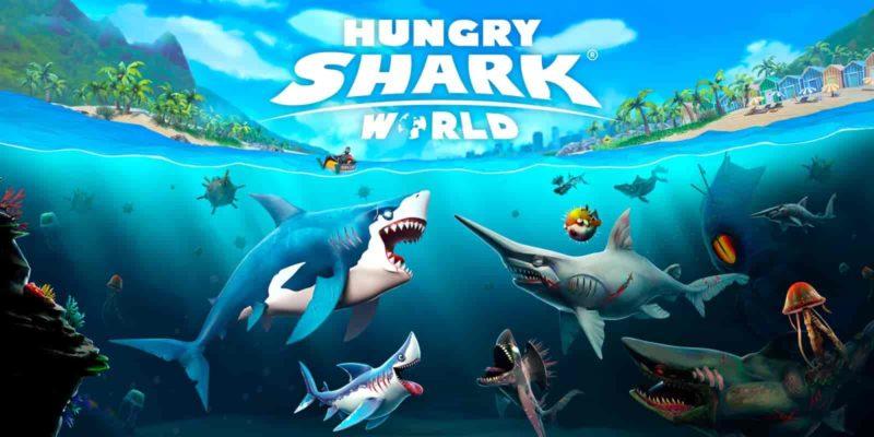 Hungry Shark World 3.4.0 Mod Apk + Data (Unlimited Money) Latest Version Download
