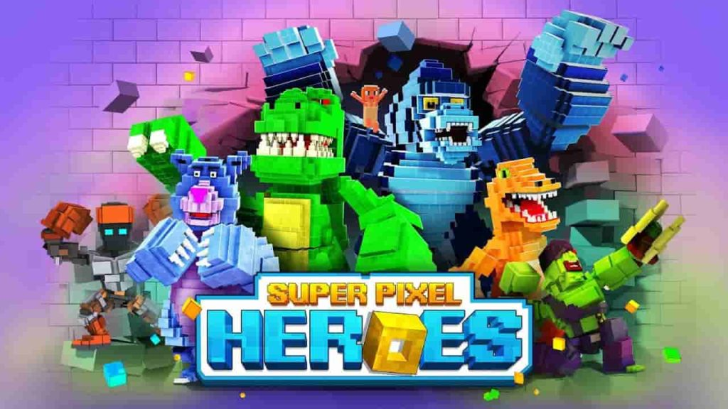 Pixel Heroes : Battle Royal 1.2.209 Mod Apk + Data (Money) Download