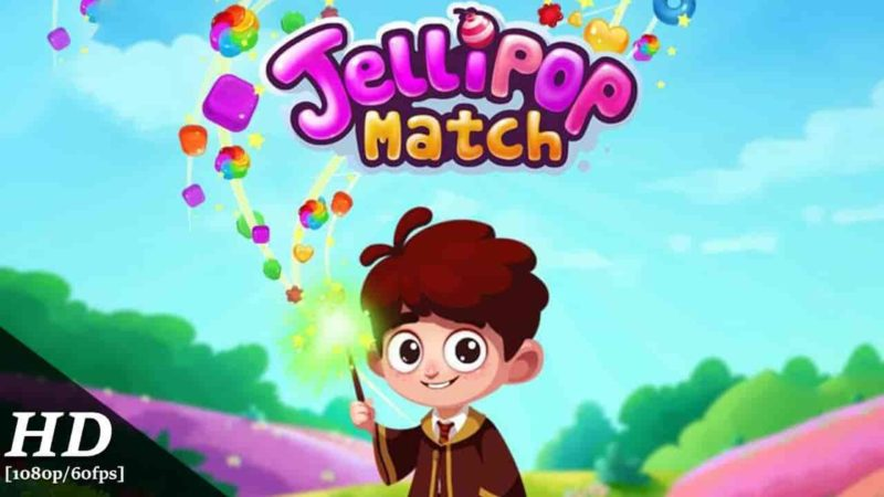 Jellipop Match 7.9.7 Mod Apk + Data (Unlimited Money) Latest Version Download
