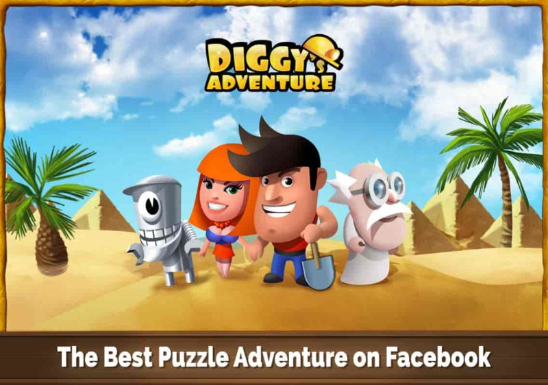 Diggy's Adventure 1.5.108 Mod Apk (Unlimited Energy) Latest Version Download