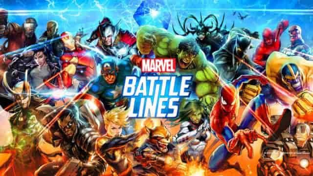 Marvel Battle Lines 2.18.0 Mod Apk (Unlimited Everything) Latest Version Download