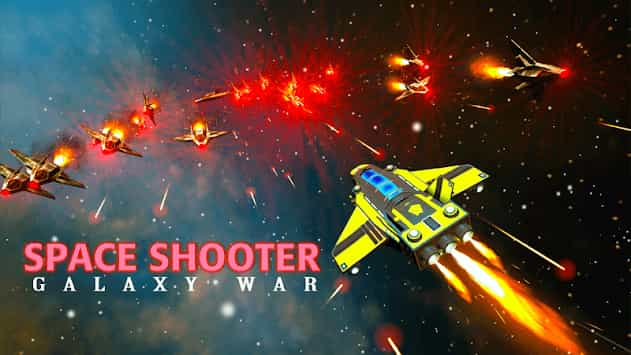 Space Shooter : Galaxy Shooting 1.393 Mod Apk (Unlimited Money) Latest Download