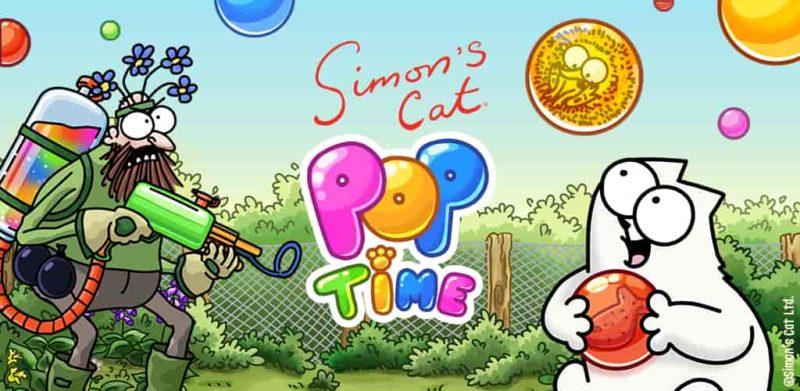 Simon's Cat – Pop Time 1.20.3 Mod Apk (Health/Booster) Latest Version Download