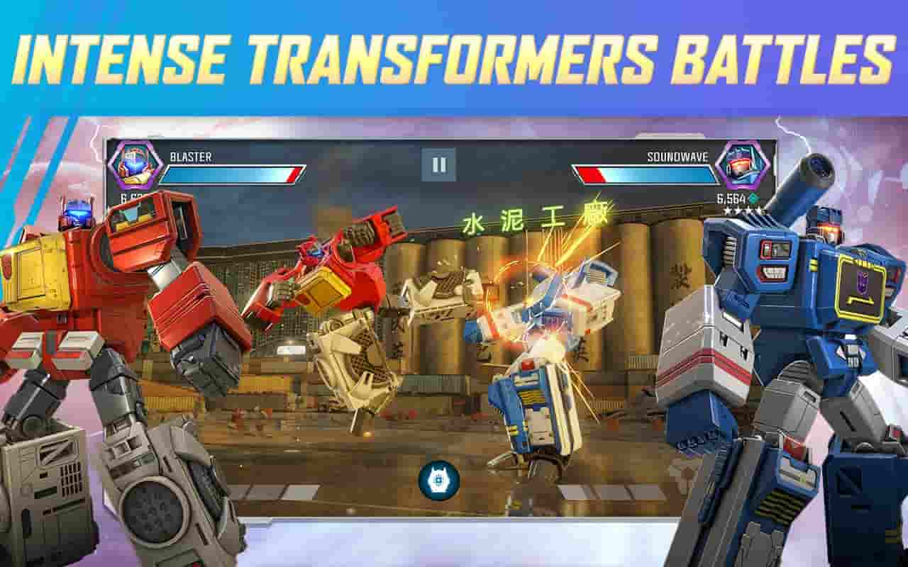 transformers earth wars mod apk unlimited cyber coins