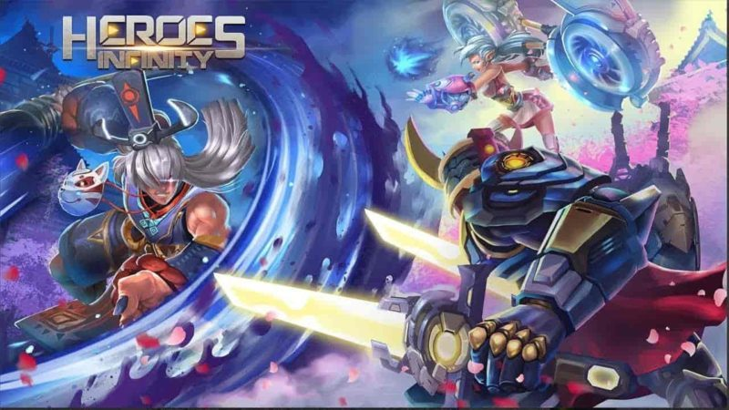 Heroes Infinity: God Warriors 1.30.12L Mod Apk (Unlimited Money) Latest Version Download
