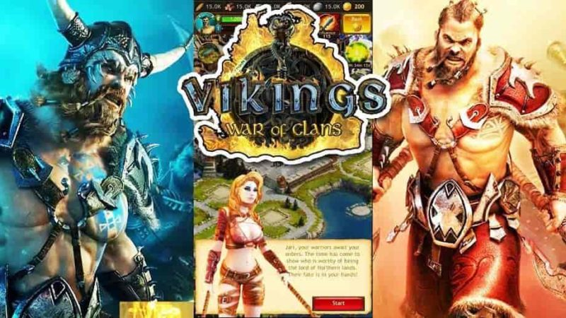 Vikings War of Clans 4.4.0.1264 Mod Apk + Data (Unlimited Gold) Latest Version Download