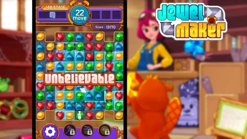 Jewel Maker Mod Apk 1.8.0 (Unlimited Coins, Gems) Latest Version Download