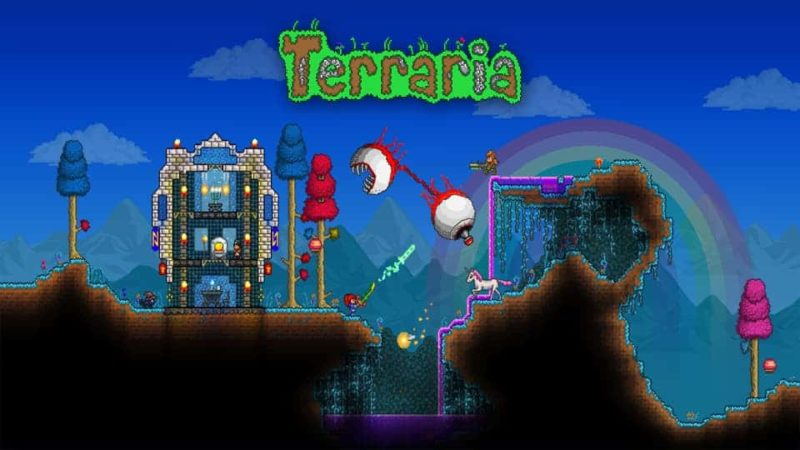Terraria Mod Apk Hack + Data 1.3.0.7.3 (Unlimited Items) Direct Download