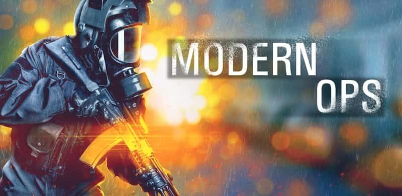 Modern Ops Mod Apk Hack 3.96 (Unlimited Ammo) Latest Version Download