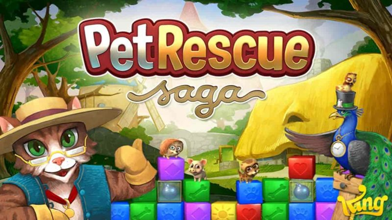 Pet rescue saga 1.256.12 Mod Apk (Lives, Booster) Direct Download