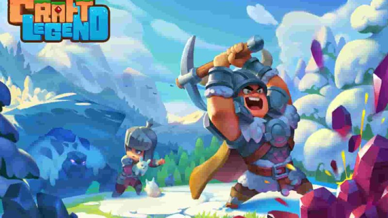 Craft Legend 1.3.3 Mod Apk (Unlimited Crystallites) Latest Version Download