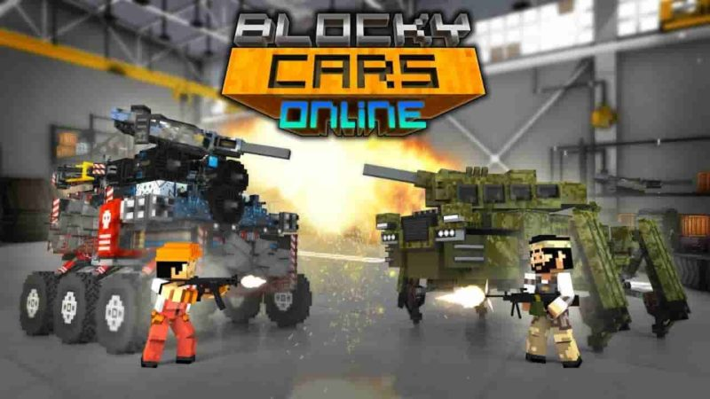 Blocky Cars Online 7.3.3 Mod Apk (Unlimited Money) Latest Version Download