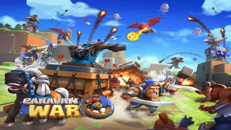 Caravan War Mod Apk 2.6 (Unlimited Money) Latest Version Download