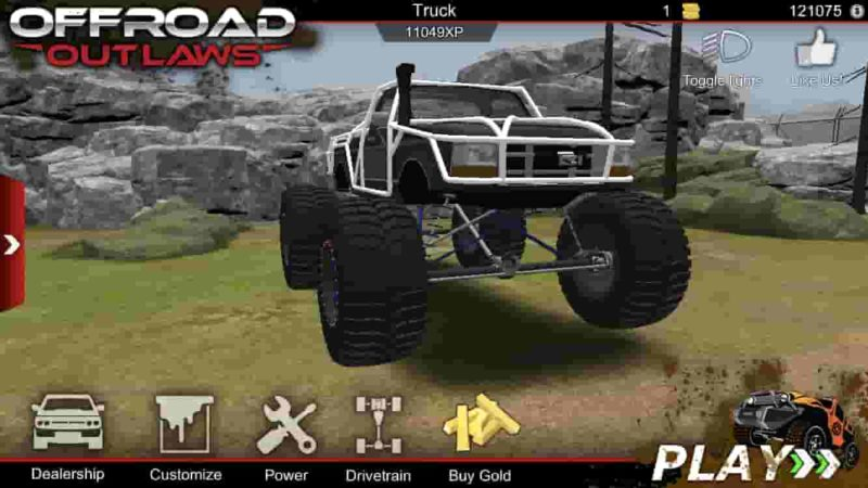 Offroad Outlaws 4.9.1 Mod Apk (Unlimited Money) Latest Download