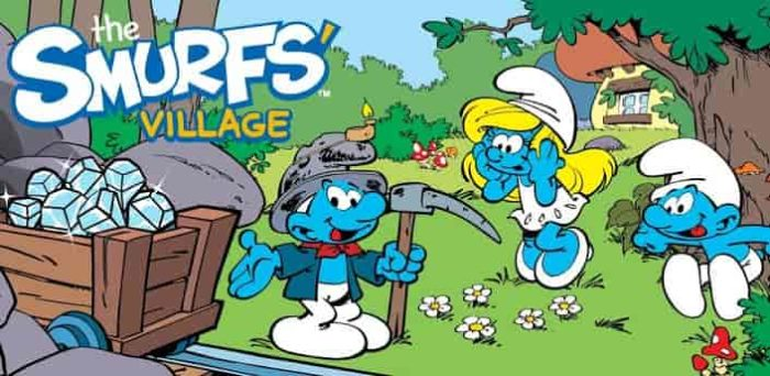 Smurfs Village 1.95.0 Mod Apk + Data (Unlimited Money/Gold) Latest Version Download