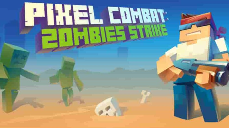 Pixel Combat: Zombies Strike 3.9.1 b93 Mod Apk (Unlimited Money) Latest Version Download