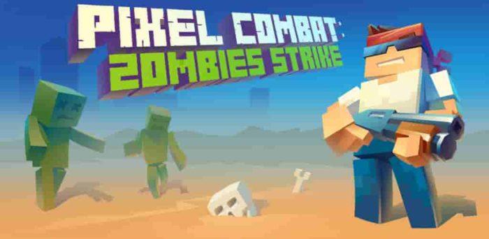 Pixel Combat: Zombies Strike 3.9.1 b93 Mod Apk (Unlimited Money) Latest Version Download