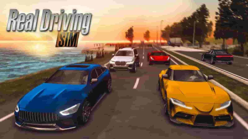Real Driving Sim 4.3 Mod Apk + Data (Unlimited Money) Latest Version Download