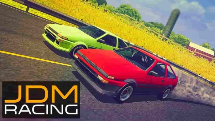 JDM racing 1.4.5 Mod Apk (Unlimited Money) Latest Version Download
