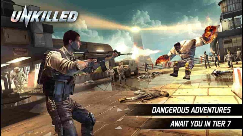 Unkilled 2.0.8 Mod Apk (Infinite Ammo) Latest Version Download