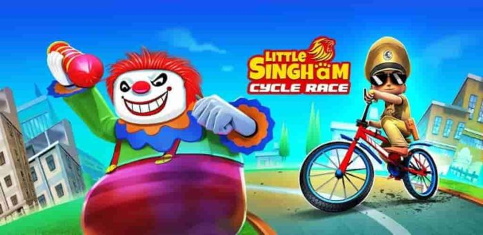 Little Singham Cycle Race 1.10 Mod Apk (Unlimited Money) Latest Version Download