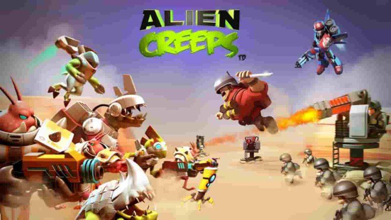 Alien Creeps TD 2.31.1 Mod Apk (Unlimited Money) Latest Download