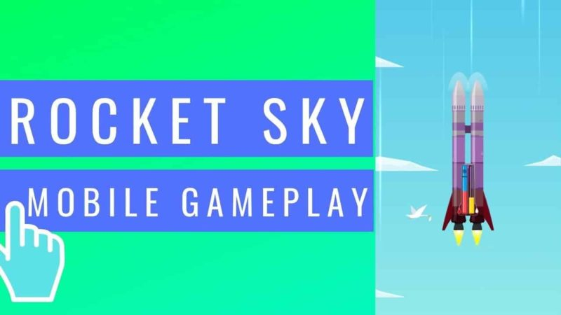 Rocket Sky Mod APK 1.3.9 (Unlimited Shopping) Latest Download