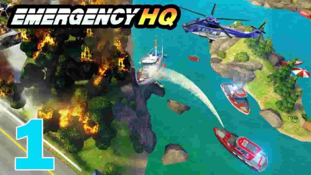 EMERGENCY HQ Mod Apk 1.5.00 (Unlocked All) Download 2020