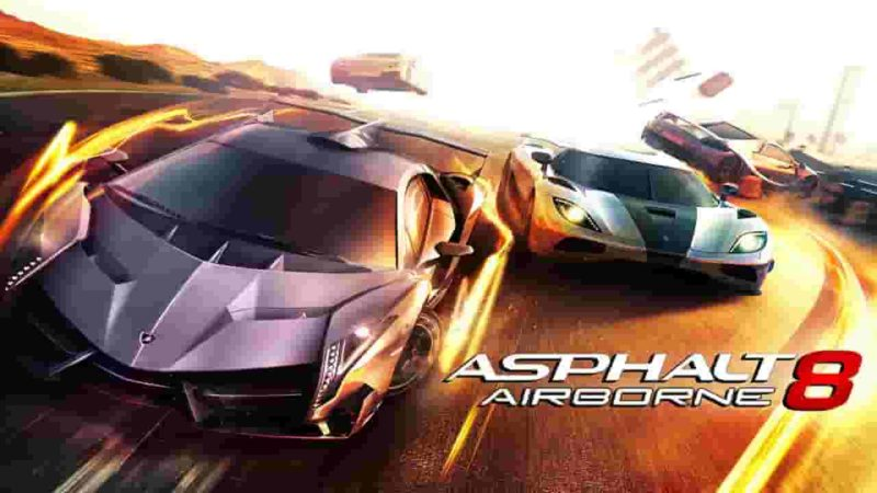 Asphalt 8 Airborne 5.1.1a Mod Apk + Data (Unlimited Money) Download