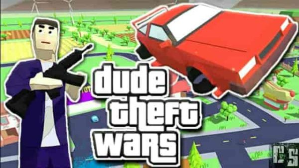 Dude Theft Wars 0.87in Mod Apk (Unlimited Money) Latest Download