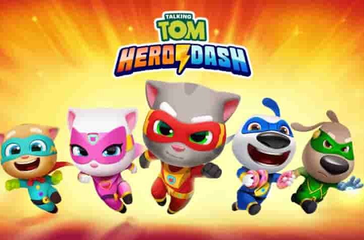 Talking Tom Hero Dash Mod Apk 1.4.0.777 (Unlimited Money) Download