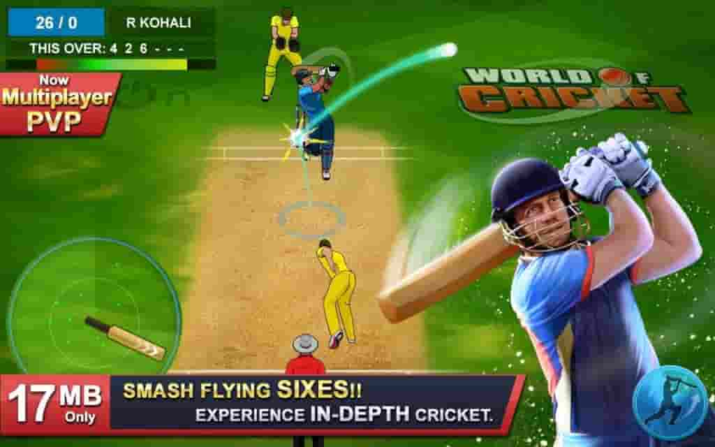World of Cricket Mod Apk
