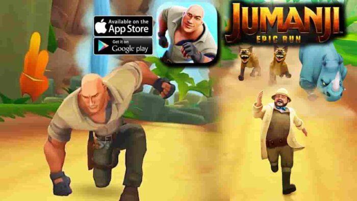 Jumanji Epic Run Mod APK 1.5.0 (Unlimited Gold) Latest Download