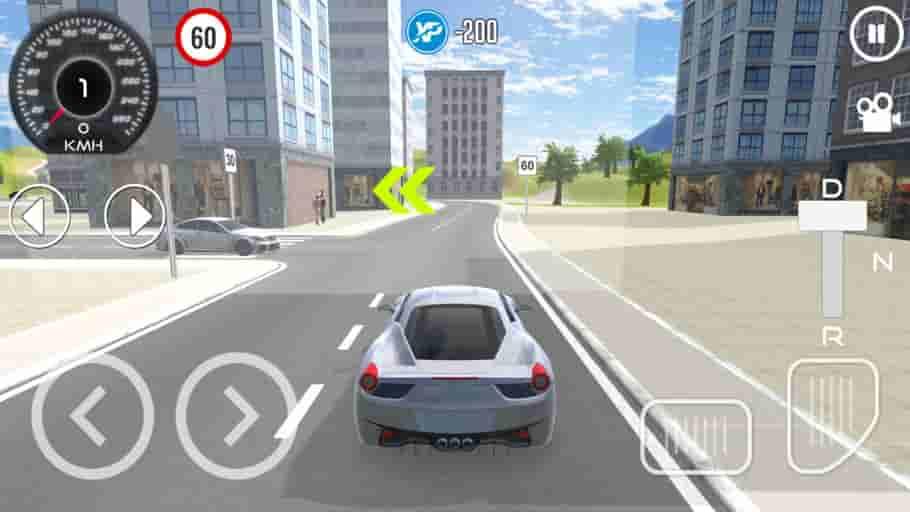 Driving School Sim MOD APK