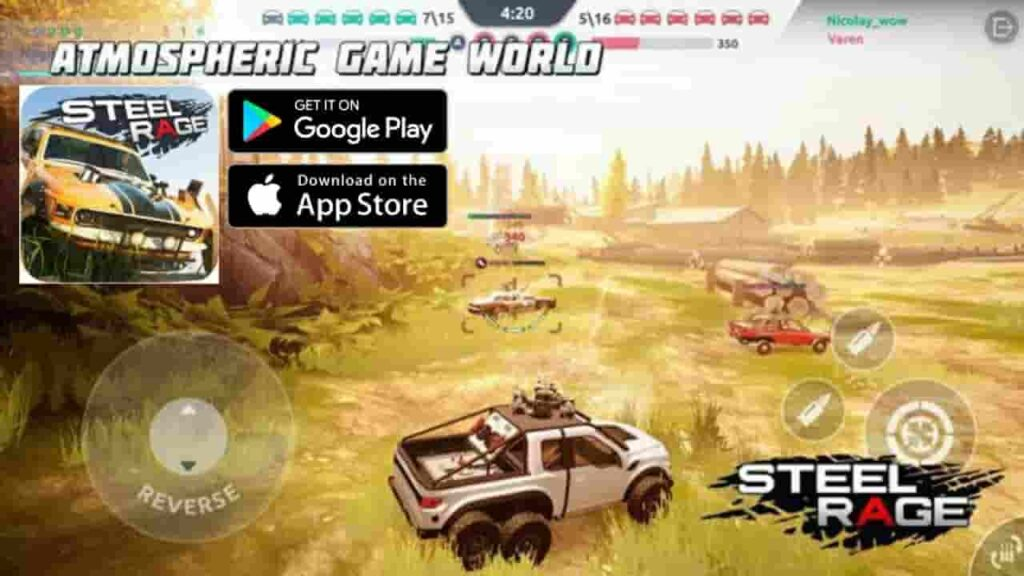 Steel Rage Mod Apk Download 0.163 (Unlimited Ammo) For Android