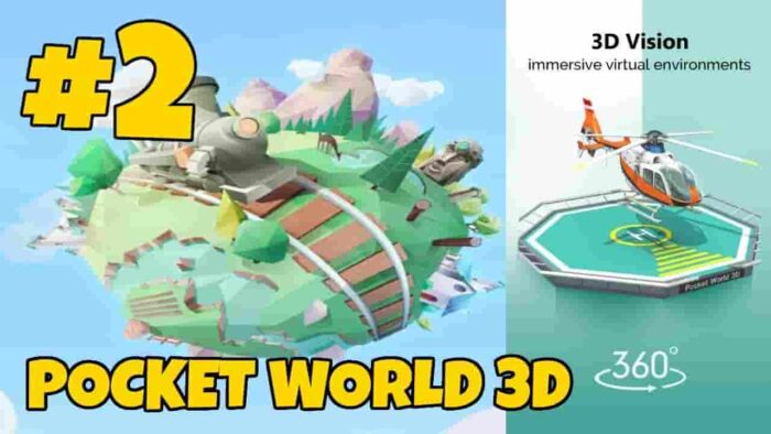 Pocket World 3D Mod APK 1.6.3 (Unlimited Gold) Download