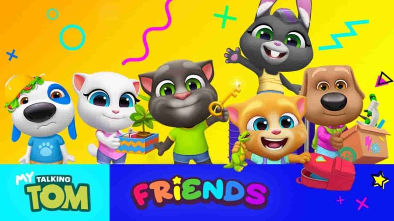 My Talking Tom Friends Mod Apk 1.3.1.2 (Unlimited Money/Coins) Download