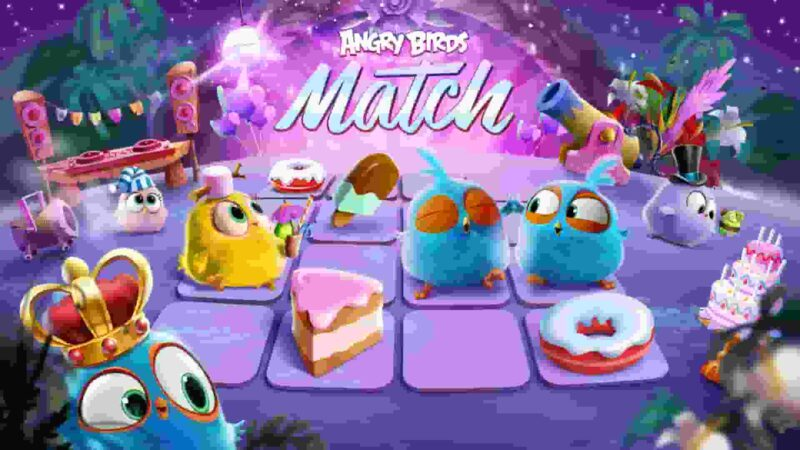 Angry Birds Match 3 MOD APK v4.5.0 (Money/Coins/Lives) Download
