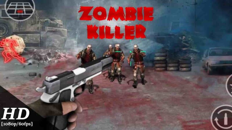 Zombie Killer Mod Apk 2.6 (Unlimited Money/Gems) Free Download